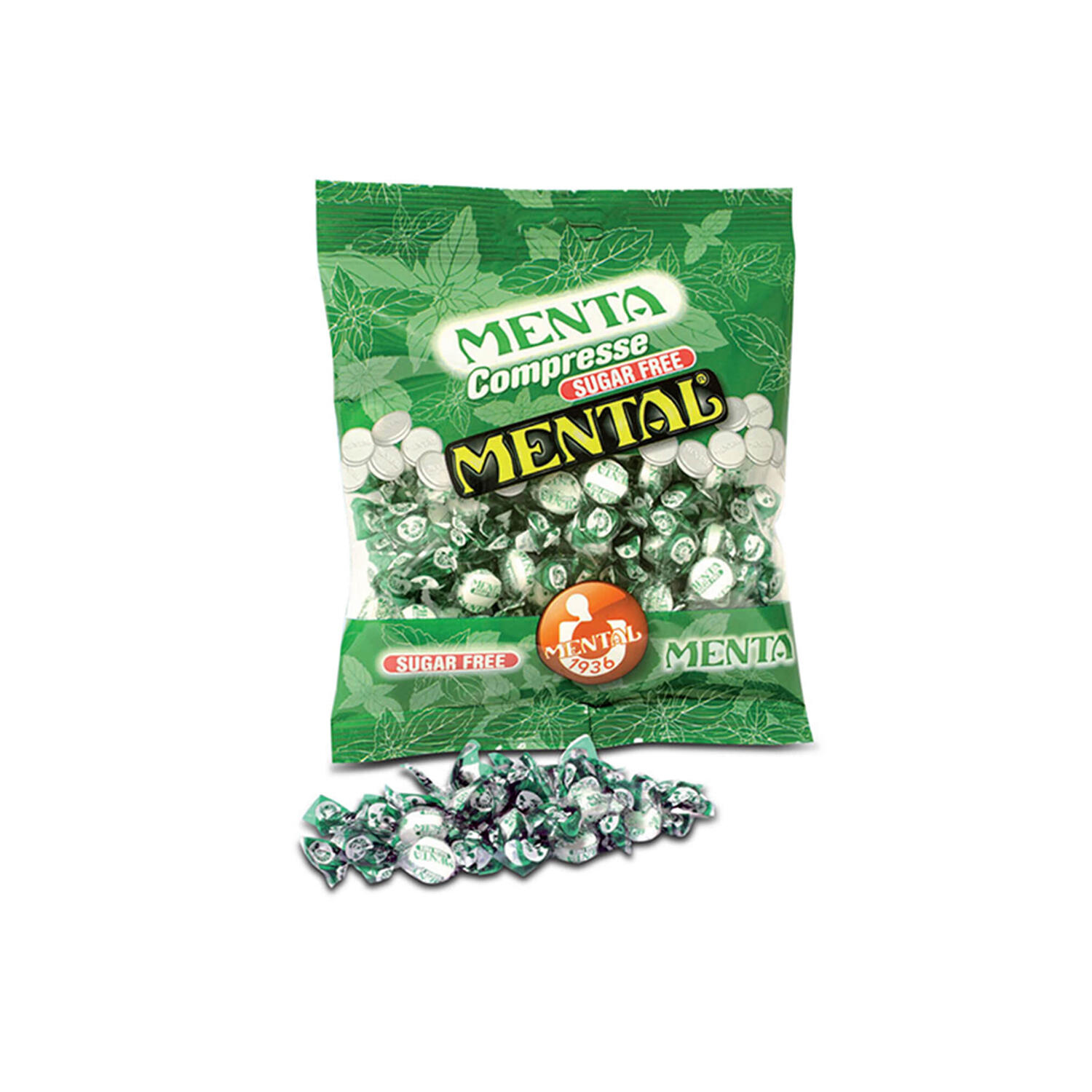 Sugar Free Mint Pills Large Packet - Single Pack - Large Packets