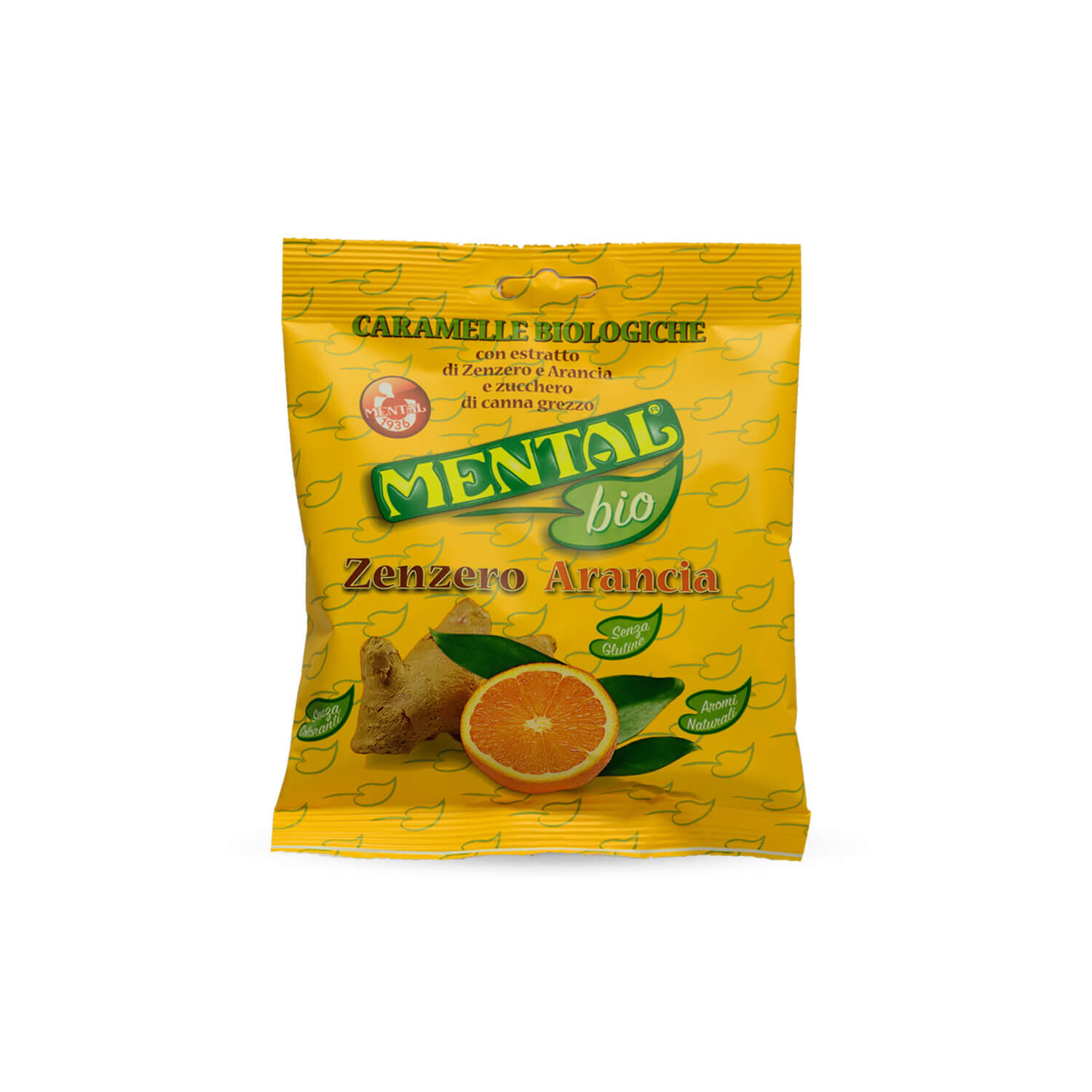 Ginger Orange Large Packet - Single Pack - Bio Candies