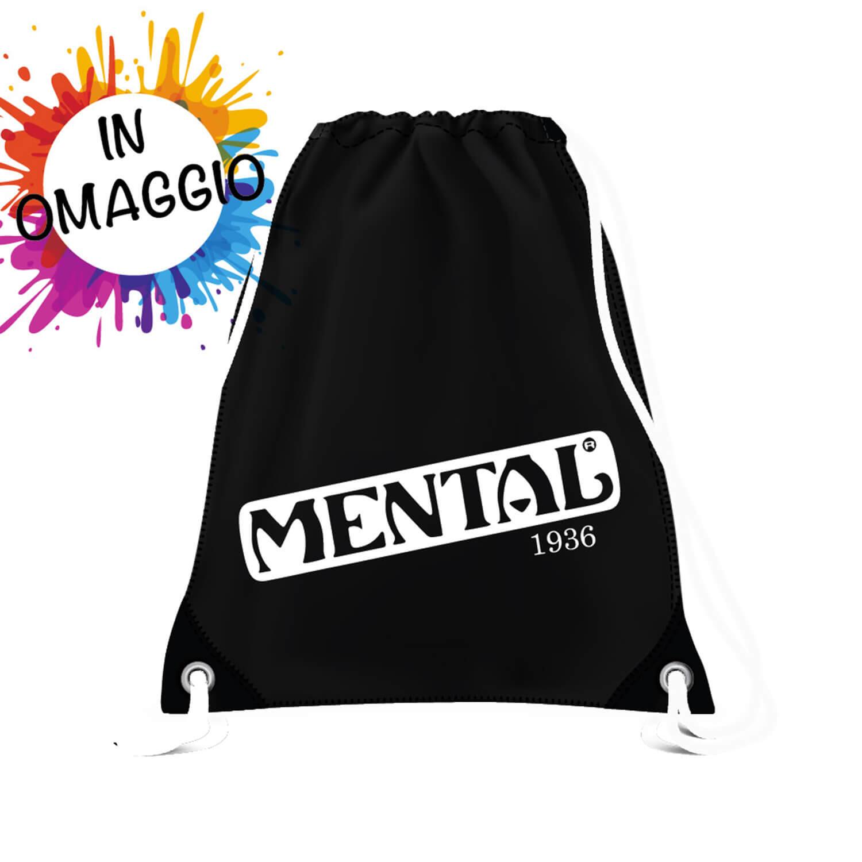 T-shirt fucsia Mental Vintage - taglia XL - T-shirt