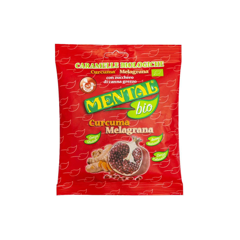 Curcuma Pomegranate Large Packet - Single Pack - Bio Candies
