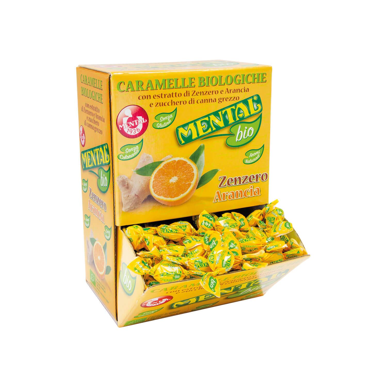 Ginger/Orange Pills Display - 750gr - Display