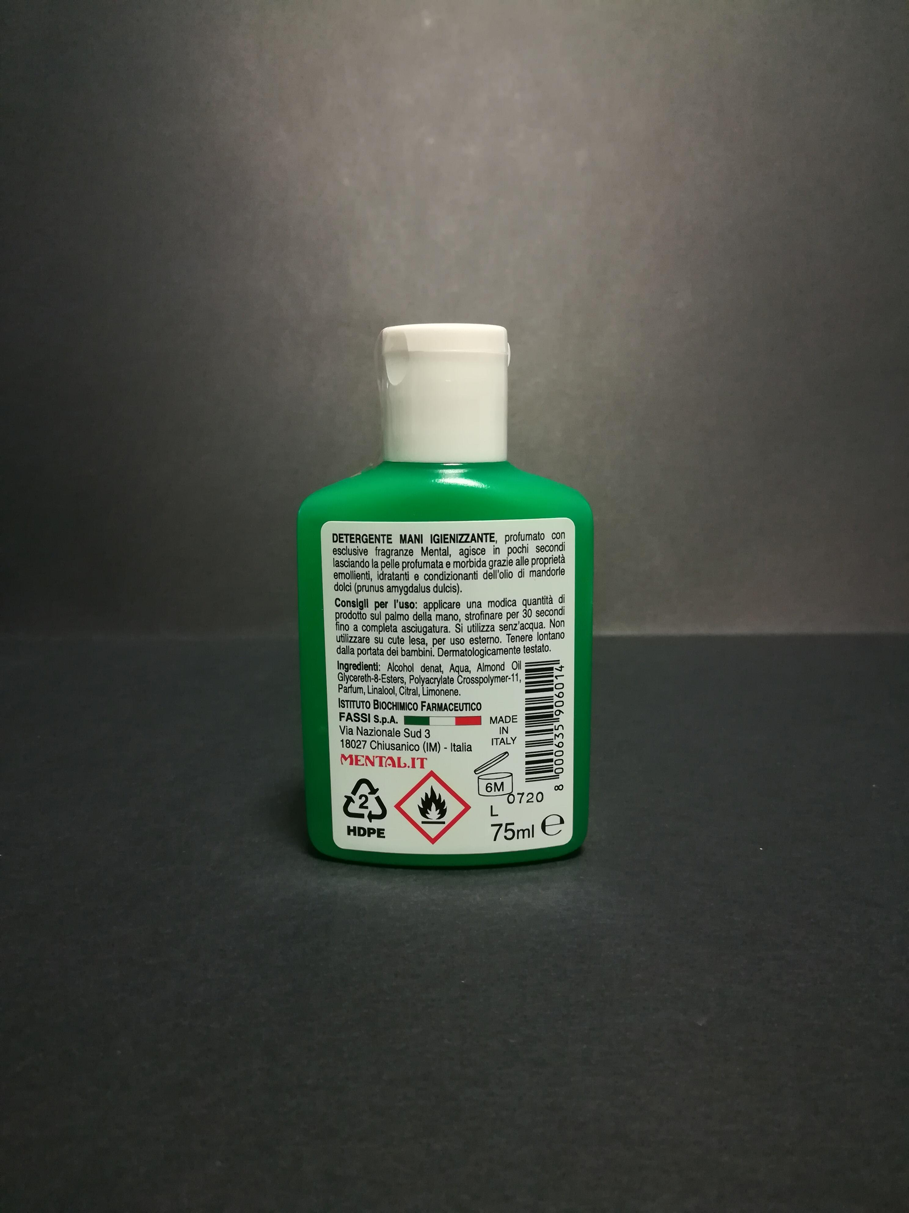 Mental GEL 70 ml - Prodotto Singolo  - Gel Igienizzante