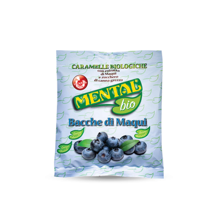Buste Cuscino Bacche di Maqui - Confezione da 12PZ - Caramelle Bio